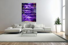 Buy Deep Purple-Abstract Colorfield, Acrylic painting by Nestor Toro on Artfinder. Discover thousands of other original paintings, prints, sculptures and photography from independent artists.