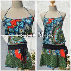 mandala psyche dress -color:Black-  #dress #naturaleeza #mandala #hippie