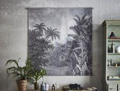 Black and White Jungle Wall Chart