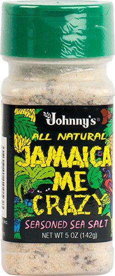 Jamaica Me Crazy--Seasoned Sea Salt