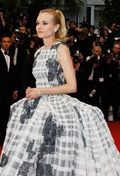 Cannes WERQ: Diane Kruger in Christian Dior Couture | Tom & Lorenzo