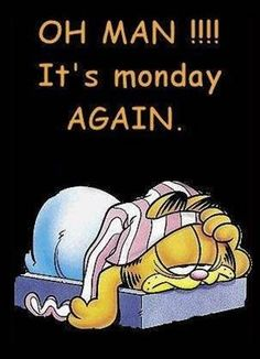 Oh Man Its Monday Again monday good morning monday quotes good morning quotes happy monday funny monday quotes monday quote happy monday quotes good morning monday Garfield Pictures, Garfield Quotes, Garfield Cartoon, Garfield And Odie, Garfield Comics, Garfield Monday, Monday Memes, Monday Quotes, Work Quotes