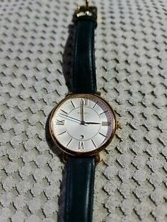 Find many great new & used options and get the best deals for Women's Navy Fossil Watch, Jacqueline- Needs new battery at the best online prices at eBay! Free delivery for many products! Watch Display Case, Diamond Quartz, Wooden Watch, Navy Women, Jewelry Organization, Free Delivery, Fossil, Watches, Ebay