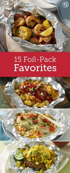 With minimum effort and practically no cleanup, these foil-pack dinners make for the ultimate weeknight meal or summer party main attraction! Don't have a grill? Many of these recipes can be cooked to perfection in the oven--expand the Expert Tips section below each recipe for details!: