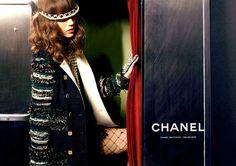 Chanel Ads - Fall 2011 Model: Freja Beha Erichsen Photographer: Karl Lagerfeld Styled by Carine
