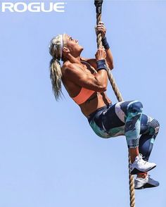 Rogue Climbing Ropes are competition tested and athlete approved. Link in bio. Crossfit Women, Crossfit Gym, Crossfit Athletes, Sara Sigmundsdottir, Bodybuilding Workouts, Women's Bodybuilding, Ripped Girls, Rogue Fitness, Muscle Girls