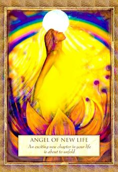 Angel of New Life. If you read these words right now, this is true for you. A…