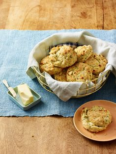 Feta & Chive Biscuits.
