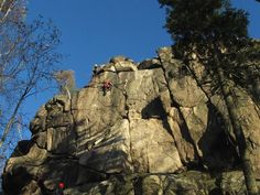 Climbing - Hard - Amazing view when you reach the top. Rappelling, Climbers, Czech Republic, Mount Rushmore, Adventure, Mountains, Amazing, Nature, Top