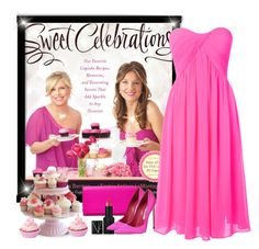 """""""Sweet Celebrations  (Cupcakes)"""" by pink1princess ❤ liked on Polyvore featuring Glamorous, FOSSIL, NARS Cosmetics and Brian Atwood"""