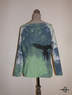 Unique Tie-Dye shirt,for women, made by FreedomFactory