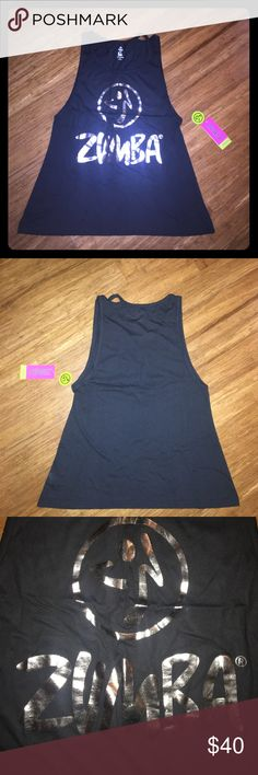 ✨ NWT ZUMBA tank top!! 🚫 NOT Nordstrom, tagged for exposure. Never worn, made for Zumba workouts but can be worn for any workout and also goes great with jeans or shorts! 😊 Nordstrom Tops Tank Tops