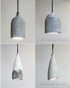 1000 images about lighting on pinterest concrete lamp. Black Bedroom Furniture Sets. Home Design Ideas