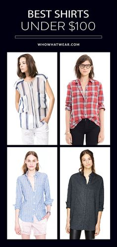 11 perfect button-down shirts, all under $100. // #Shopping #MustHaves