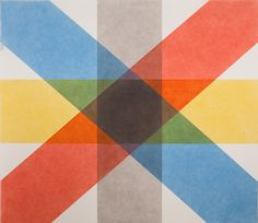 Wall Drawing 427 by Sol Lewitt