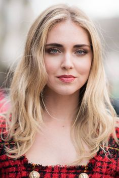 11 CelebritiesThat Will Make You Want Buttery Blonde Hair - Chiara Ferragni from InStyle.com
