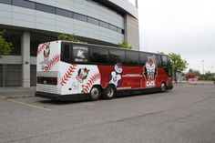 OTTAWA BUS WRAPS - Ottawa Fat Cats Bus
