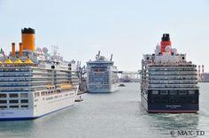 Kreuzfahrtschiffe in Barcelona