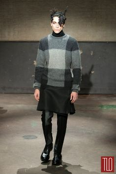 Alexander McQueen Fall 2014 Menswear Collection