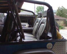 DIY Split fold and tumble back seat. Jeep Wrangler YJ