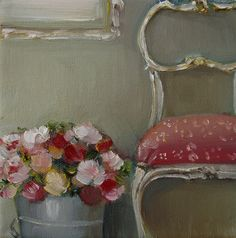 """Market Roses"" by Janet Hill"