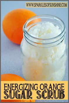 Amazing skin tips sugar scrubs Check out this energizing orange sugar scrub recipe at Sparkles of Sunshine. Keep your skin soft with this moisturizing sugar scrub! Sugar Scrub Homemade, Sugar Scrub Recipe, Sugar Scrub For Face, Homemade Bar, Homemade Candles, Homemade Crafts, Diy Body Scrub, Diy Scrub, The Body Shop