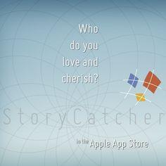 http://itunes.apple.com/us/app/story-catcher/id689792581?mt=8