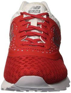 more photos 791e7 1b52e New Balance Lifestyle Textile, Herren Sneaker, rot - rot - Größe EU 41.5