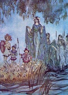 When the fairy race of the Tuatha dé Danann arrived in Ireland, they came like a mist across the waters, bringing with them magical gifts.