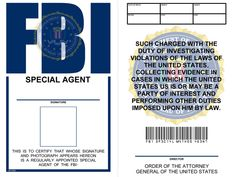 Artist Derek Frost brings us this  nicely done prop FBI badge  that's ideal for modern scenarios.  Just follow the link for the full-sized, ...