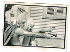 "Photograph by Bruce Gilden, ""New Orleans 1983"" - an old postcard that has seen better days."