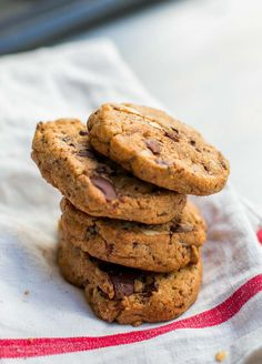 Salted Butter Chocolate Chip Cookie recipe // David Lebovitz