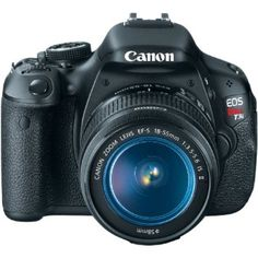 : Canon EOS Rebel T3i 18 MP CMOS Digital SLR Camera and DIGIC 4 Imaging with EF-S 18-55mm f/3.5-5.6 IS Lens: Jessie L Embry: Camer...