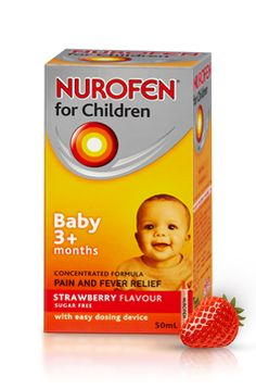 Would not have survived teething without the help of Baby Nurofen. The website also has some handy hints for parents with sick children.
