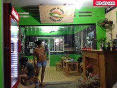 Lắp đặt màn nhựa PVC cho quán Cafe: Meci.vn chuyên lắp đặt và sản xuất mang nhựa PVc