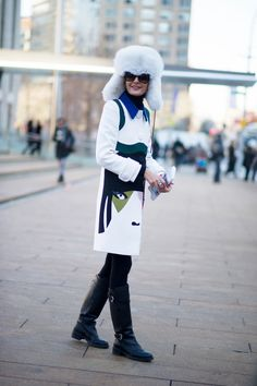 Giovanna Battaglia, New York, Fall 2014