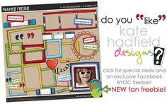 """contre un """"Like"""" vous obtiendrez ces cadres colorés qui se prêteront à toutes vos créations..."""
