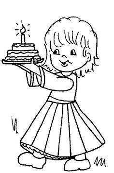 Kleurplaat Cadeau Lieke Verjaardag On Pinterest Paper Hats Bloemen And Preschool