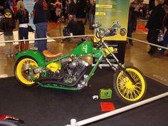 You look better on a John Deere ! John Deere Decals, Big Tractors, John Deere Equipment, Motor Scooters, Mopeds, Motocross, Cool Toys, Cars Motorcycles, Tanks