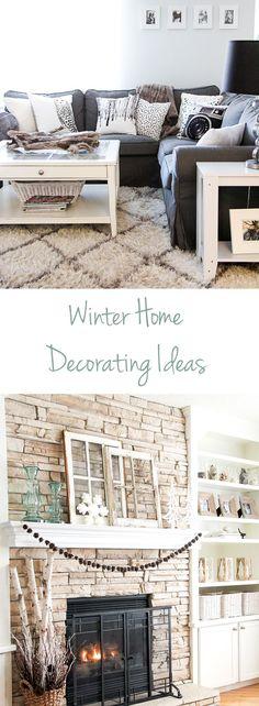 Winter Living Room D