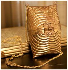 brass purse