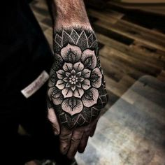 Wrist coverup dot tattoos, line tattoos, black tattoos, geometric tattoos, chevron tattoo Cool Forearm Tattoos, Hand Tattoos For Women, Wrist Tattoos, Badass Tattoos, Sleeve Tattoos, Flower Tattoo Hand, Mandala Flower Tattoos, Flower Tattoo Shoulder, Tattoo Flowers