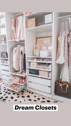 Walk In Closet Design, Bedroom Closet Design, Wardrobe Design, Closet Designs, Ikea Bedroom, Bedroom Storage, Small Walk In Closet Ideas, Small Walk In Wardrobe, Diy Master Closet