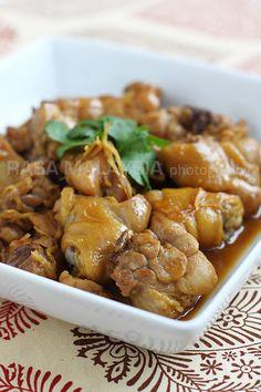 Sesame Oil Chicken/麻油鸡 (paleo/primal)