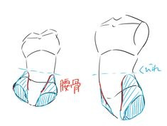 Things such as tips when drawing the human body Body Reference Drawing, Anatomy Reference, Art Reference Poses, Body Drawing Tutorial, Drawing Base, Drawing Tips, Drawing Techniques, Poses References, Drawing Expressions