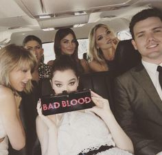 #BBMAsSquad ready for the #BadBloodMusicVideo premiere.