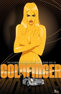 Goldfinger by MikeMahle on DeviantArt