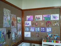 Creative art work display