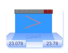 Here's an interactive whiteboard resource on comparing decimals.