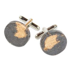 Concrete Cuff Links | The Met Store
